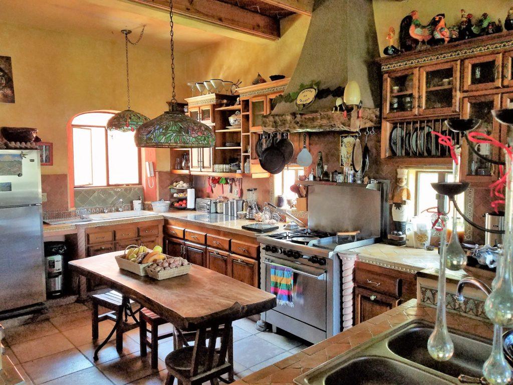 Kitchen at Hotel Boutique Casa Angelitos