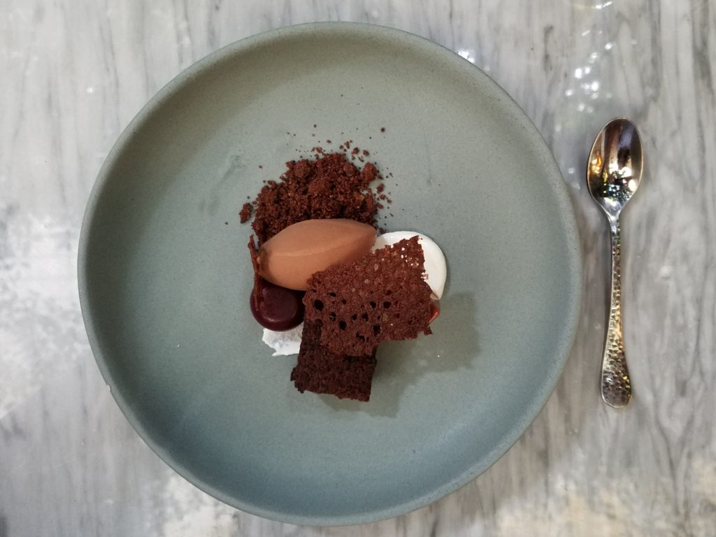 Different textures of Chocolate at Aperi in San Miguel de Allende, Mexico