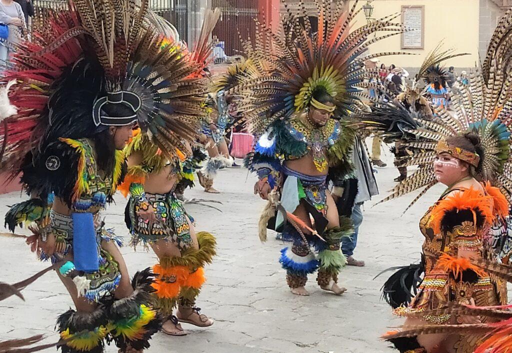 Conchero Dancers in San MIguel de Allende, Mexico