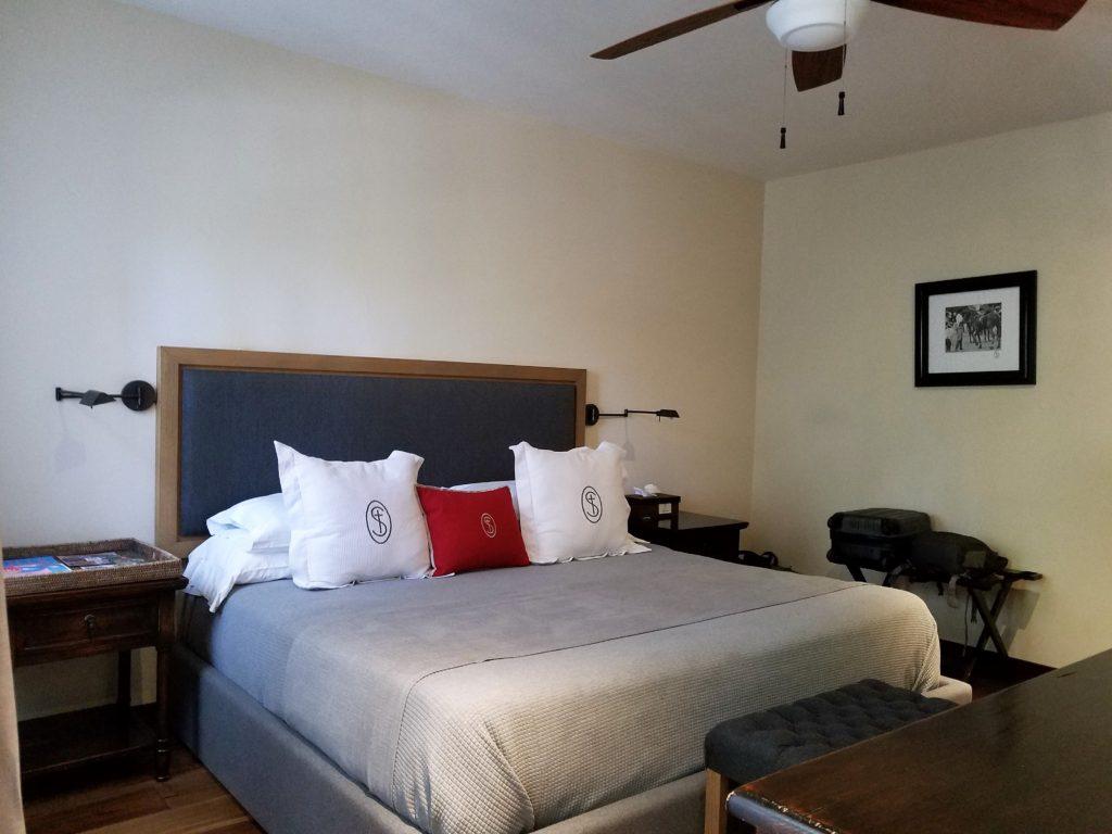 Hotel Room at La Santisma Trinidad Winery, Mexico