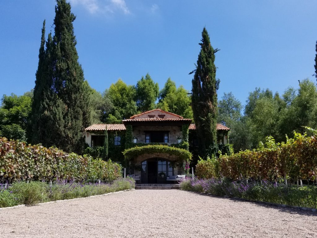Hotel at La Santisma Trinidad Winery, Mexico