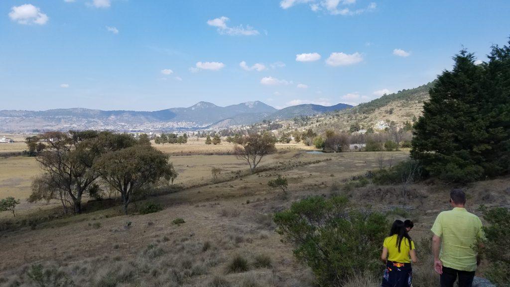 Hiking outside Acambay