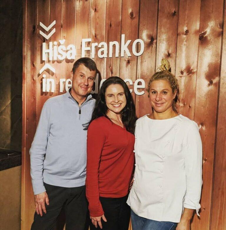 Hisa Franko in Residence Pop Up Dinner in Madrid