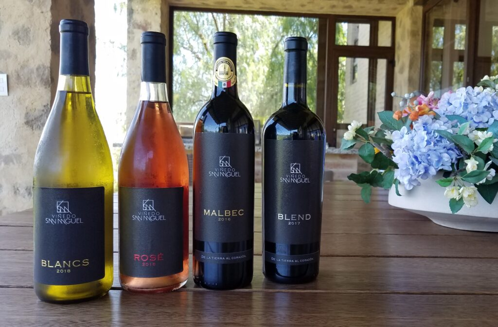 Vinedos San Miguel wines, San Miguel de Allende, Mexico