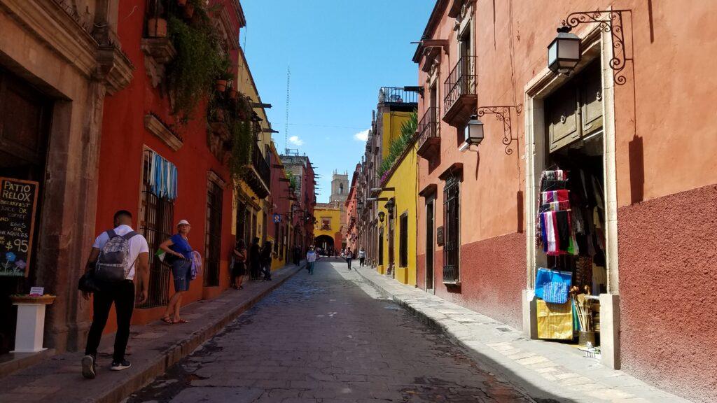 Street in San Miguel de Allende