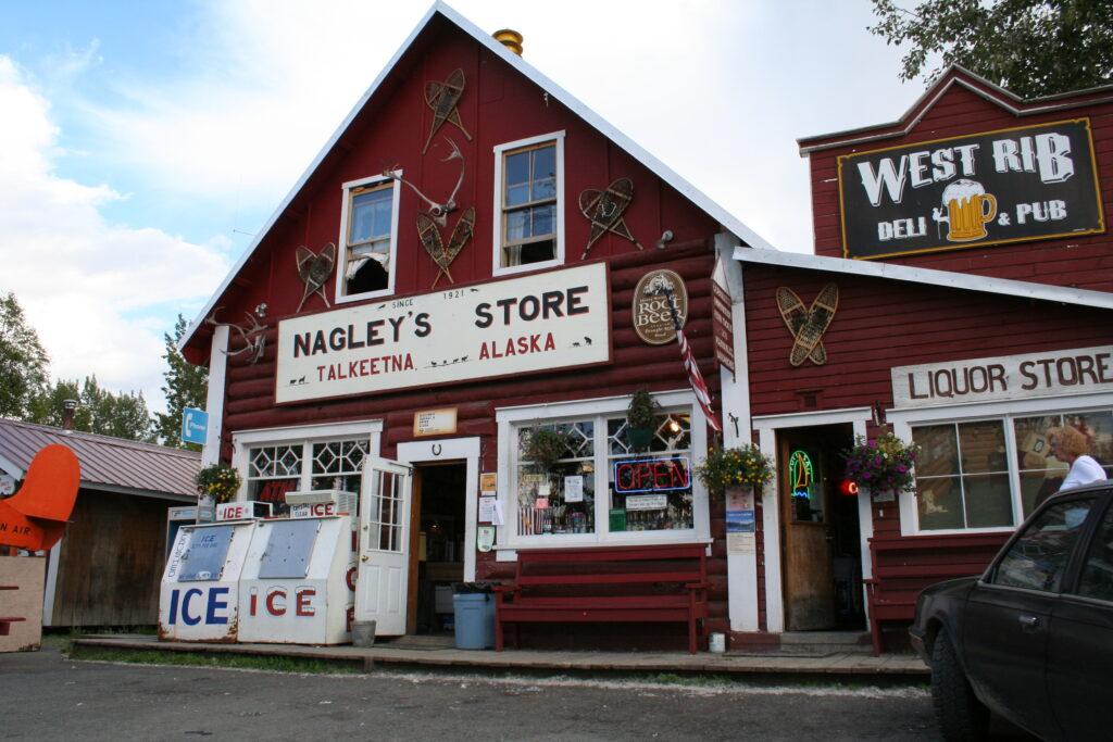 Nagley's Store in Talkeetna, Alaska