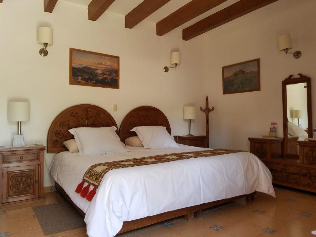 Bedroom at Posada del Virrey, Tequisquiapan, Mexico