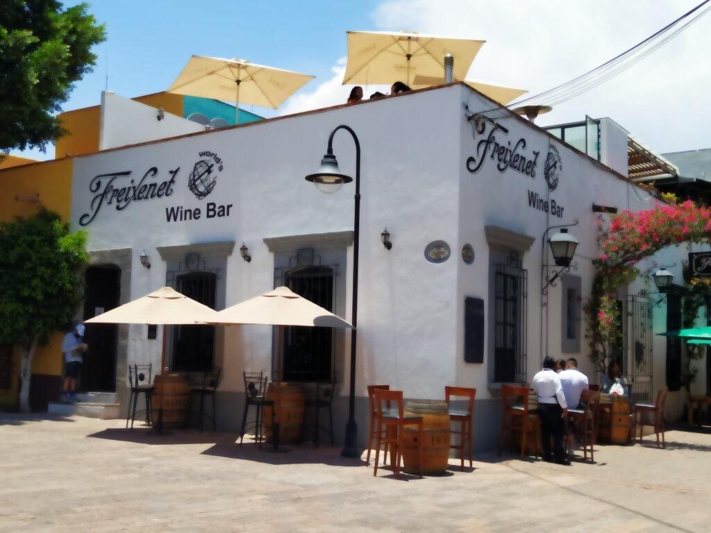 Freixenet Wine bar in Tequisquiapan, Mexico