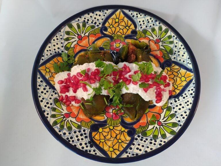 Mexico's National Patriotic Dish: Chile en Nogada